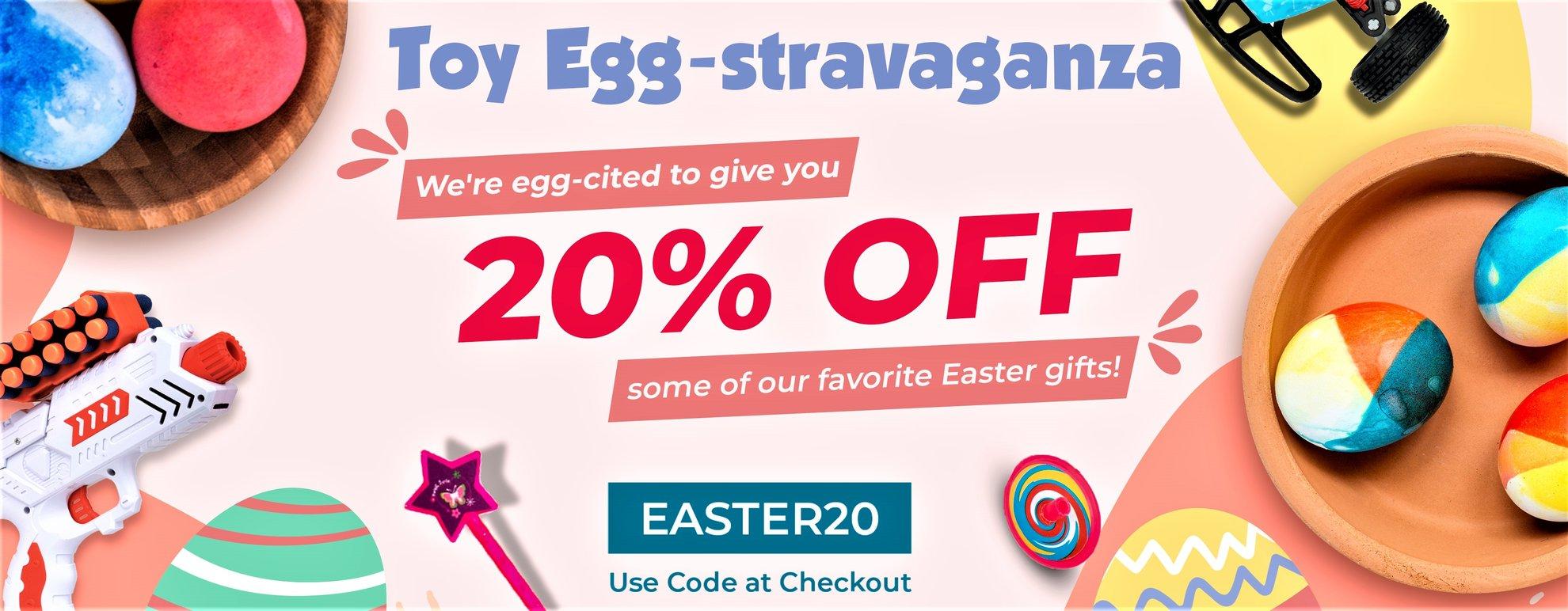 Toy Eggstravaganza - USA Toyz