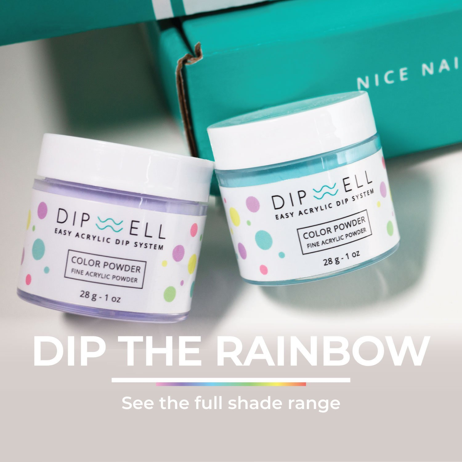 Dip the rainbow