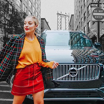 Street Style You Can Actually Wear We navigated NYFW with Volvo to prove it Shop Now